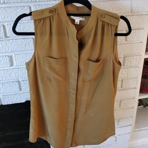Banana republic silk top